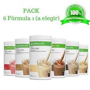 Pack 6 Batidos muy baratos Herbalife