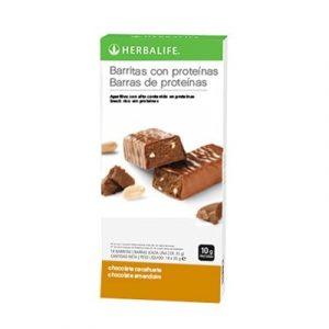 Compra BARATO aqui tus Barritas Proteinas Chocolate con Cacahuete Herbalife